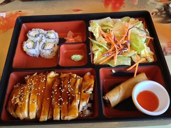Ginger's Asian Kitchen: bento box