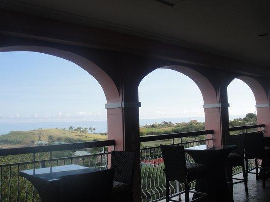 The Buccaneer St Croix: vista desde el restaurant