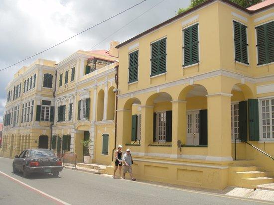 The Buccaneer St Croix : centro