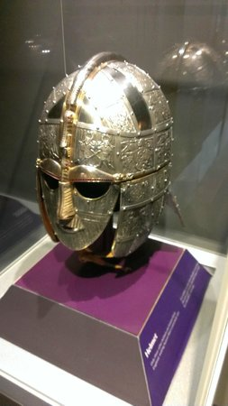 Sutton Hoo: The iconic helmet