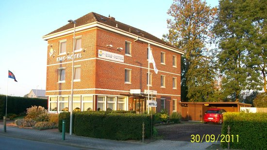 Emden, Germany: Ems-Hotel  Am Borkumkai