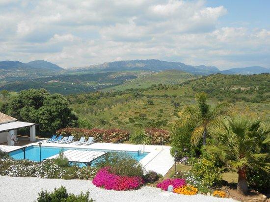 Cortijo Puerto el Peral: View from our bedroom window