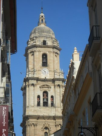 Almogia, إسبانيا: Malaga cathedral.  A visit to Malaga is a must.