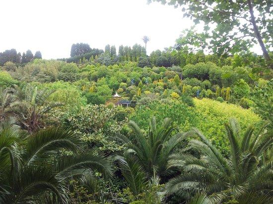 Jardines fonte baixa vista de la pagoda china bild von for Jardines de la fonte baixa