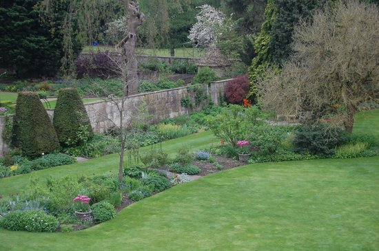 The Bath Priory: Garden View from Peony Room