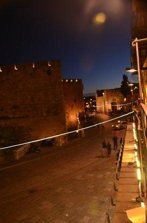 Petra Hotel & Hostel: Balcony view