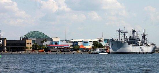 Tampa Water Taxi Company: View of the Florida Aquarium