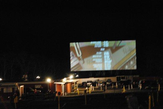 Wellfleet Drive-In Theatre: Night