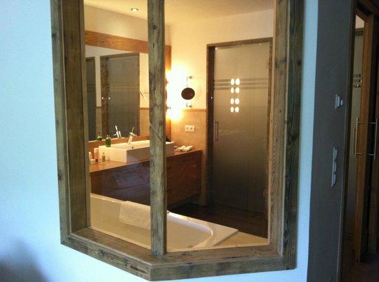 Hotel Mesnerwirt: Bagno camera Suite Alpine