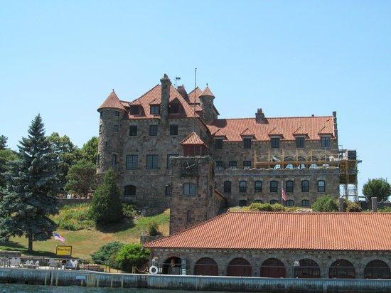 Singer Castle on Dark Island: Full View of Singer Castle