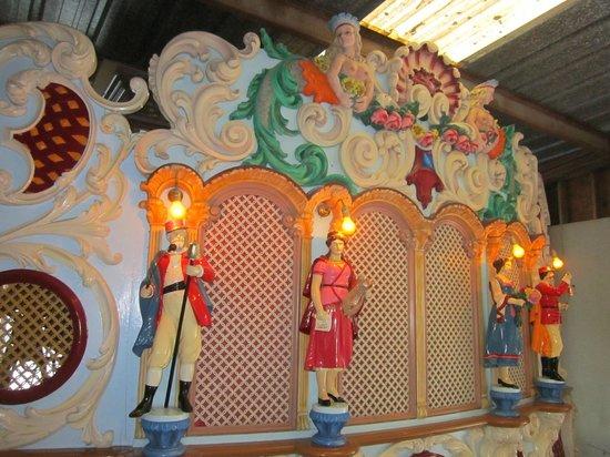 Knoebels Amusement Resort: Found in the carousel