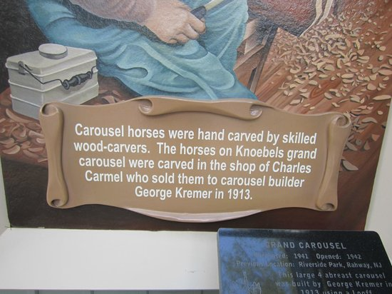 Knoebels Amusement Resort: Here is a description about the carousel