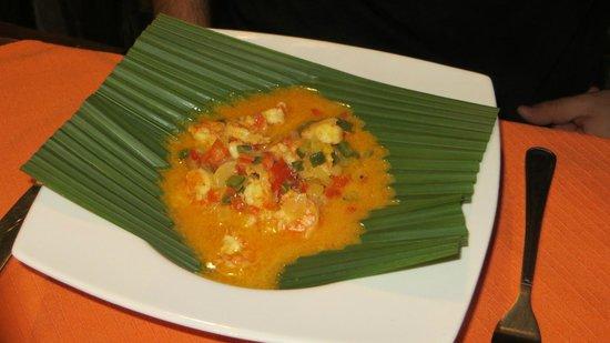 Terrabambu Restaurant Lodge: Maito de camarones