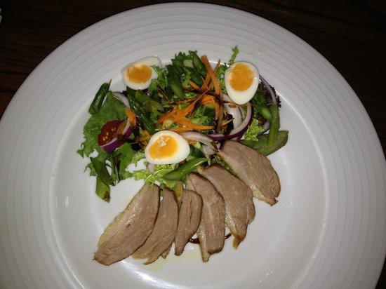 The Wheatsheaf: Duck with Quail Egg Starter