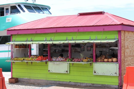 Waterfront Highway: Fruit Stand