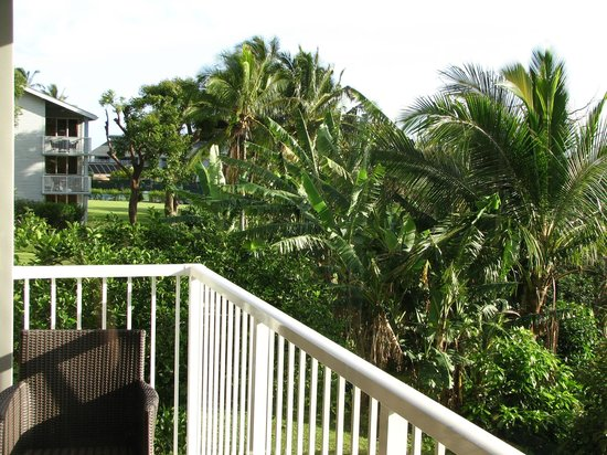 The Cliffs at Princeville: View from kitchen lanai