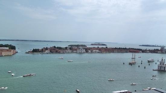 Tour Leader Venice: View from campanile.