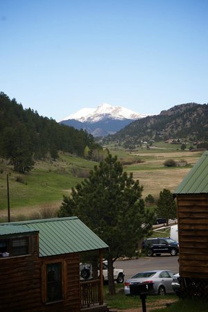 Jellystone Park of Estes : View from the deck