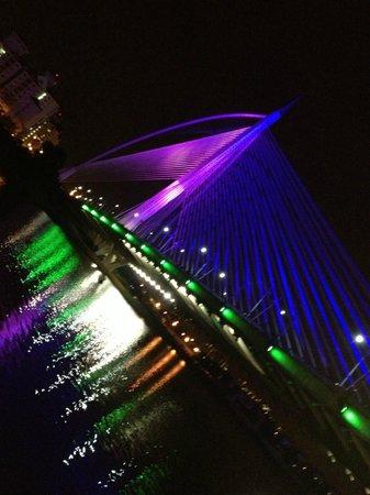 Seri Wawasan Bridge, Putrajaya : Purple bridge
