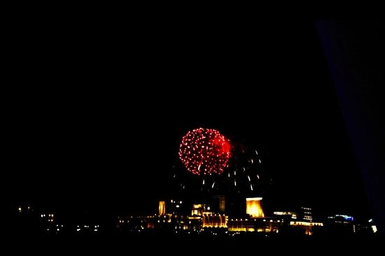 Seri Wawasan Bridge, Putrajaya : Fireworks