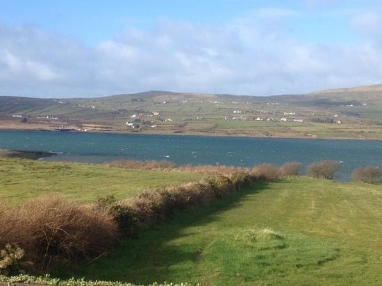 Portmagee Seaside Cottages: view from old stones cottage