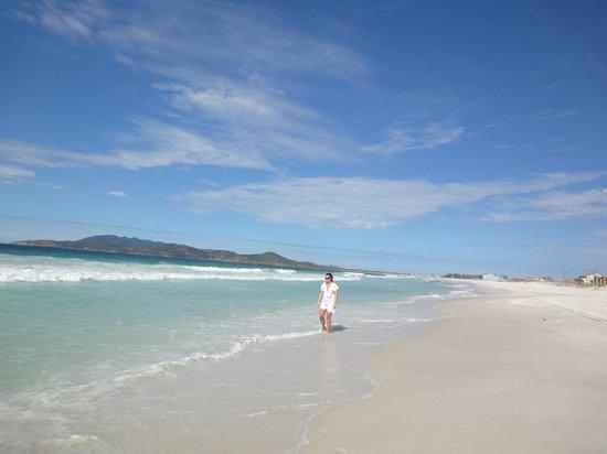 Pousada Laguna: La playa