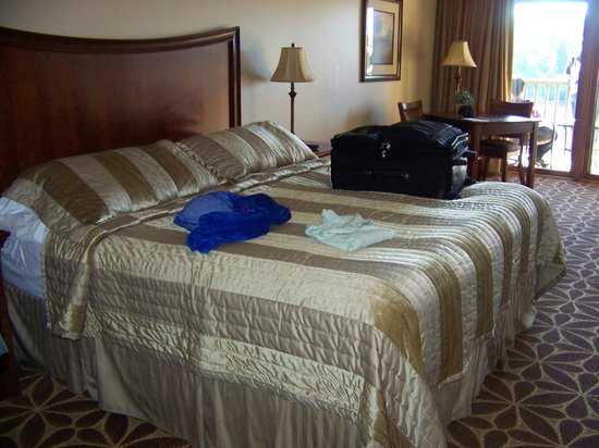 Ocean Gate Resort: comfortable bed