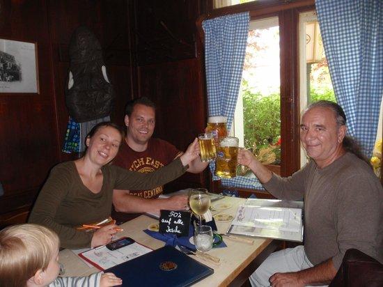 Weisses Rössl: great food, big beers, child friendly