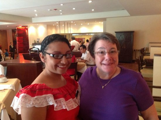 Real InterContinental San Salvador at Metrocentro Mall: The wonderful young woman who made the pupusas every day I was there. Fantastic! Great breakfast