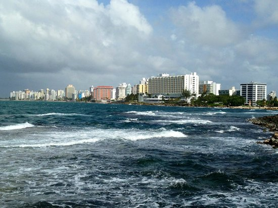 Caribe Hilton San Juan: View of the Condado
