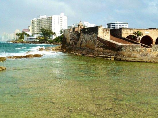 Caribe Hilton San Juan: San Jeronimo view
