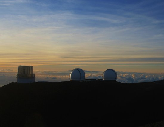 Arnott's Lodge: Keck telescopes, Mauna kea