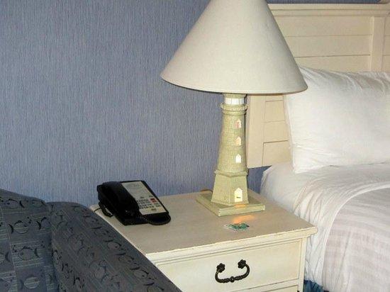 Sugar Beach Resort Hotel : Lighthouse Lamps