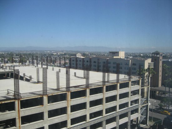 The Concourse Hotel at Los Angeles Airport - A Hyatt Affiliate: View. Mountains in the distance