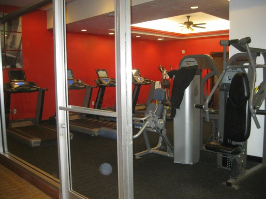 The Concourse Hotel at Los Angeles Airport - A Hyatt Affiliate: Exercise room on ground floor