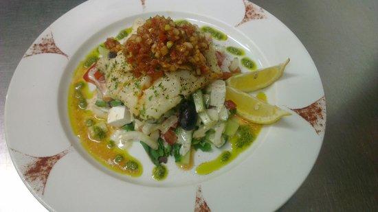 Med Kichen: Greek Fish