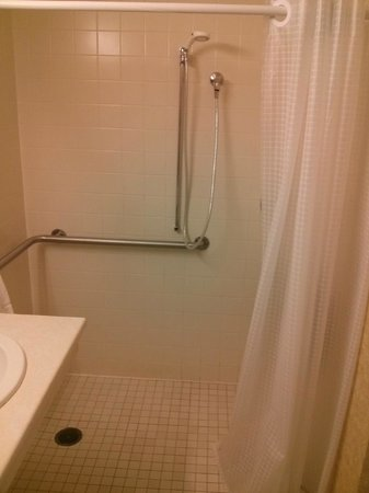 Kelly Inn Fargo: Accessible suite bathroom