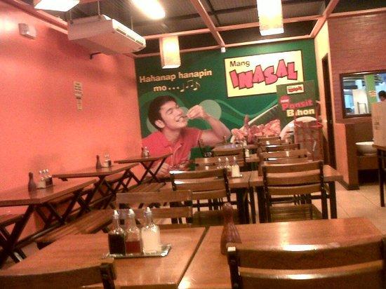 Mang Inasal: dine in morning