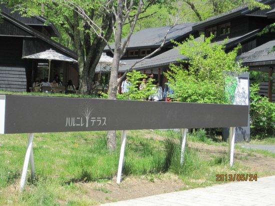 Karuizawa-machi, Japan: 入口です