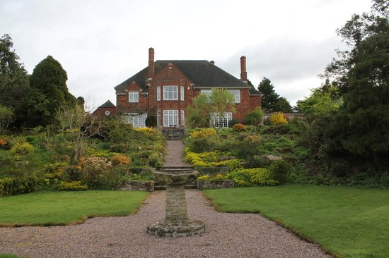 Whitfield House: View of the house from the garden