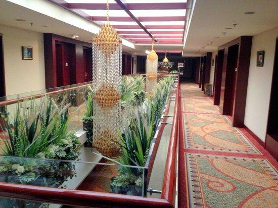 Jinshijie Hotel : Hallway