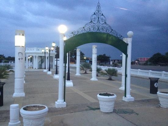 Plaza del Buen Maestro : entrada principal