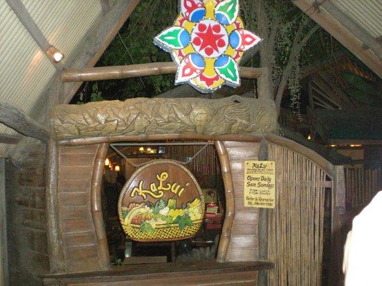 Kalui Restaurant: facade