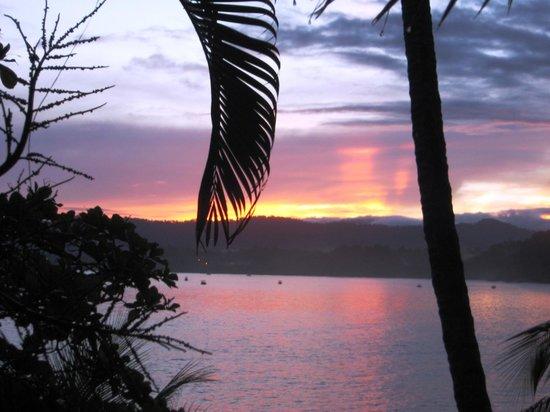 Jinetes de Osa Hotel: sunrise view
