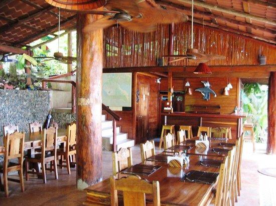 Jinetes de Osa Hotel: dining area