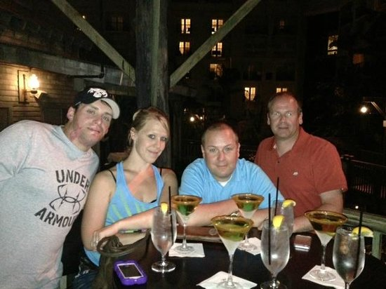 Old Hickory Steakhouse : Our Carmel Apple Martini posse!