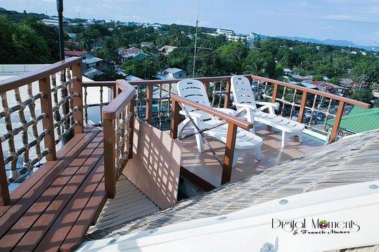 Grande Vista Hotel: viewing deck