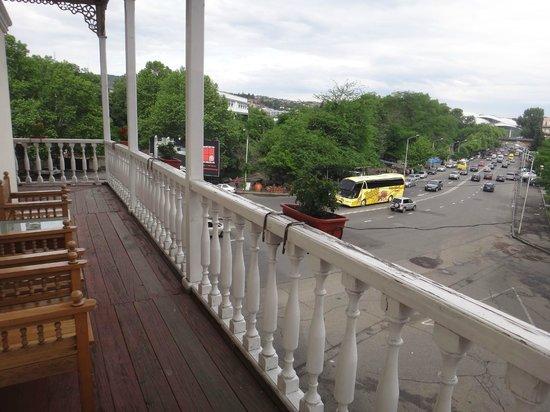 Hotel River Side: вид с балкона