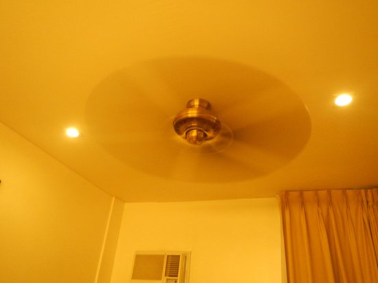 Lotus Garden Hotel: Fan if you don't want aircon