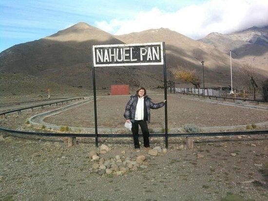 Esquel, Argentina: En Nahuelpan, la primera estación.